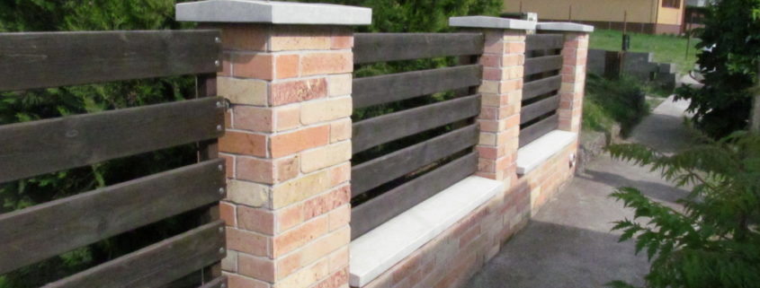 Kerítés fedlap